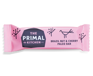 The Primal Kitchen Brazil Nut & Cherry Bars (18x45g)