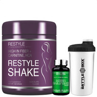 RESTYLE SHAKE,High in fiber + carnitine, HCA,SCITEC NUTRITION