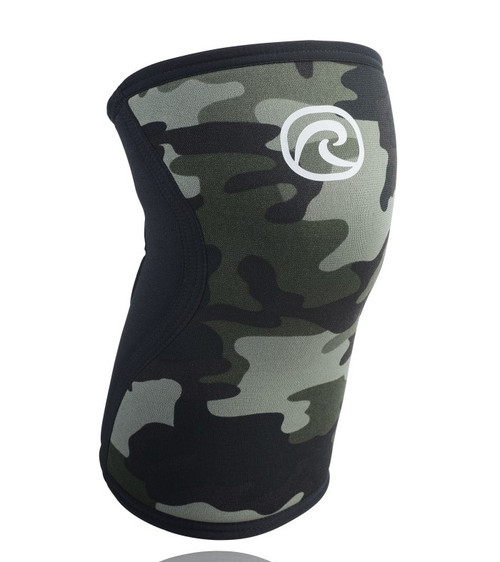 Rehband RX Line 7751 Knee Support RX Camo 5mm- Bridges Series - www,BattleBoxUk.com