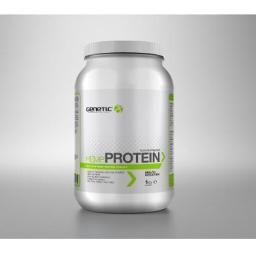 Genetic Supplements Natural Hemp Protein 1kg