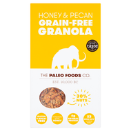 THE PALEO FOODS CO | HONEY & PECAN GRAIN-FREE GRANOLA | 300g  www.battleboxuk.com