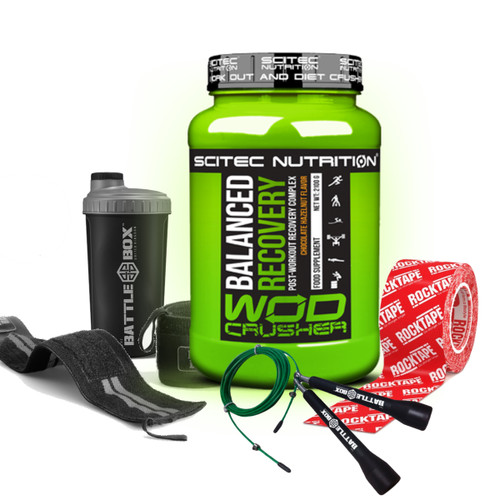 BATTLE BOX + WOD CRUSHER STACK crossfit rogue protein
