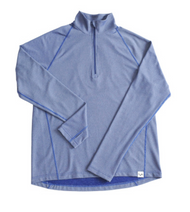 VIVIMOSS CASUAL ZIP TOP LIGHT BLUE