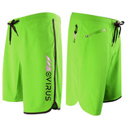 VIRUS Airflex 4-Way Stretch Functional Training Shorts Lime with Black Trim (Copy of ST143379_GRBK)