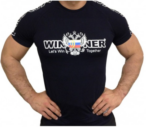 Klokov Winner Coat of Arms Russia Compression T-shirt Футболка Герб