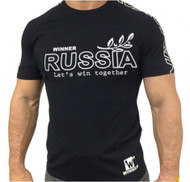Klokov Winner New Russia Compression T-shirt Navy Blue