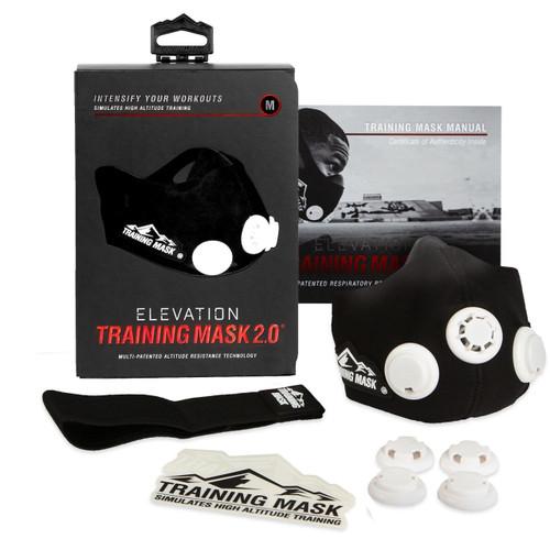 Training Mask 2.0 Elevation Training Simulates High Altitude Fitness Mask - www.BattleBoxUk.com