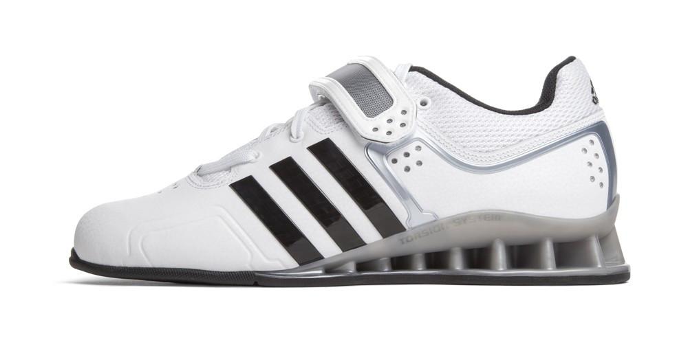 adiPower Weightlifting Shoes White M25733 - Battle Box UK bb6538e34b6d