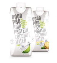CocoPro Pineapple + Natural Double Pack - 20g Protein + Coconut Water