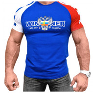 KLOKOV WINNER 3 COLOR BLUE T-SHIRT