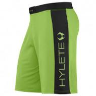 HYLETE vertex comp internal pocket short (neon green/black)