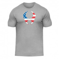 HYLETE freedom cotton crew (light gray/usa)