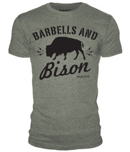 RokFit BARBELLS AND BISON T-Shirt