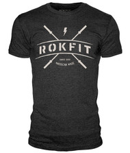 BattleBoxUk.com - RokFit CROSS BARS T-Shirt