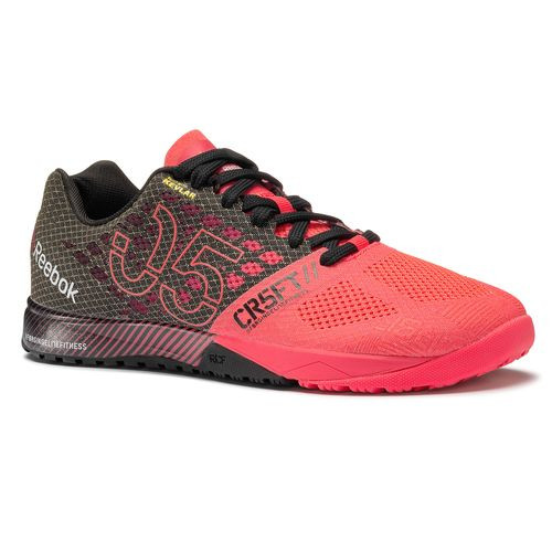 7f3c18580a REEBOK CROSSFIT NANO 5.0 Color Neon Cherry Black(M49795)