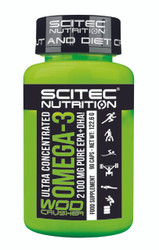 BattleBoxUk.com - Ultra Concentrated Omega-3 Wod Crusher 2100 MG PURE EPA+DHA!