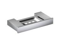 Damian - Soap Tray - Polished Chrome - Bathroom - Accessory - 12769