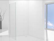 GP - 1200 Wall Panel - Frameless - Shower Screen - 13047