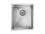 Mayfair - 340 - Linished Stainless - Kitchen - Sink/Trough - 13647