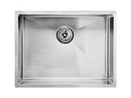 Mayfair - 540 - Linished Stainless - Kitchen - Sink/Trough - 13648