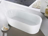 Malvern XI - 1300mm - White - Free Standing - Bath - 13352