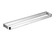 Victor - 600mm Single Towel Rail - Polished Chrome - Bathroom - Accessory - 13520