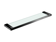 Ecco/Vitra - Glass Shelf - Matt Black - Bathroom - Accessory - 13484
