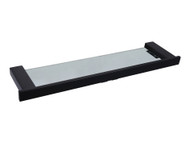 Moda - Glass Shelf - Black - Bathroom - Accessory - 13505