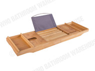 Bath Caddy - (Bamboo) - Bathroom - Accessory