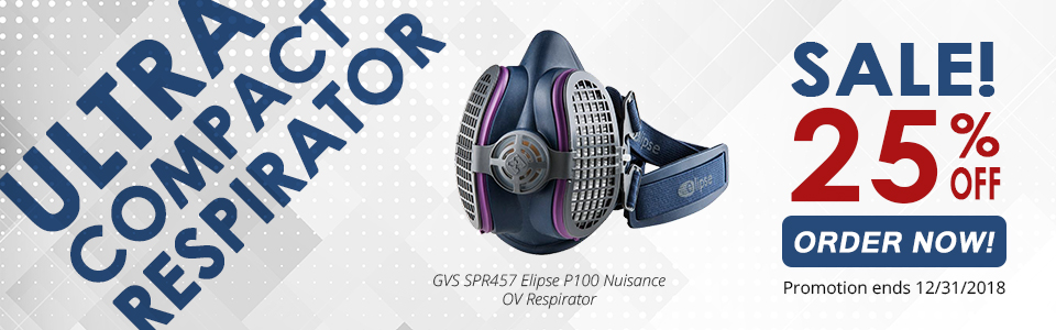 Ultra Compact P100 Respirator for Welders