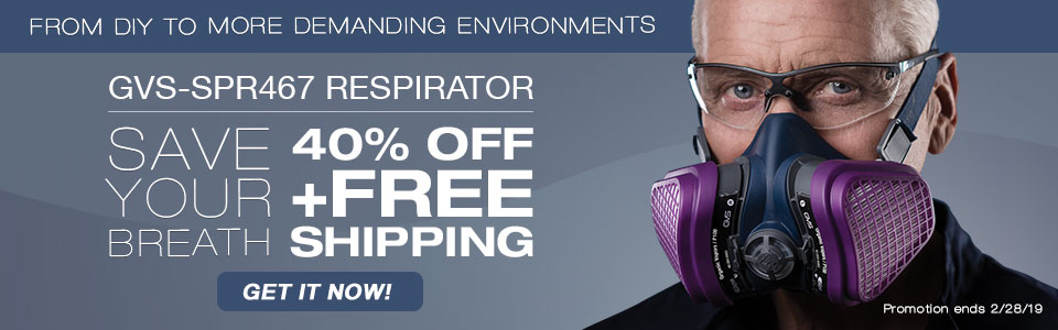 40%OFF ON SPR467 ORGANIC AND P100 RESPIRATOR AND FREE SHIPPING, BUY NOW AND SAVE TODAY!