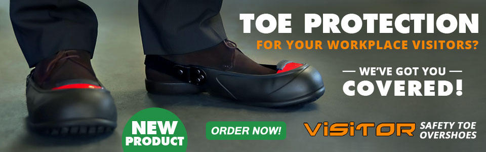 New Safety Toe Overshoe Protection with Aluminum/Titanium Alloy Cap.  FREE Shipping!