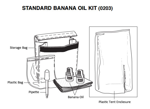Allegro 0203 Standard Banana Oil Kit