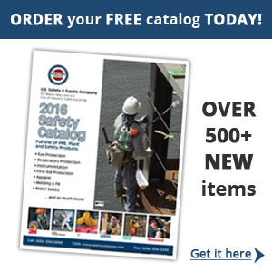 Get a FREE copy of our NEW 2016 Catalog which features a comprehensive selection of safety equipment and supplies. It includes more than 3000 safety products from industry brand leaders in PPE.