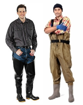 Keep your feet protected and dry all day while at work. Buy chest and hip waders and save up to 35% now!