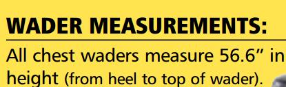 Chset Wader Measurement