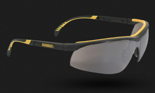 Dual Mold Rubber Temples and Brow • Adjustable Temples • Rubber Nosepiece • Meets ANSI Z87.1+ • 99.9% UV
