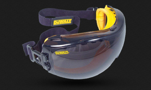 DUAL MOLD GOGGLE • Meets ANZI Z87.1+ • 99.9% UV Protection