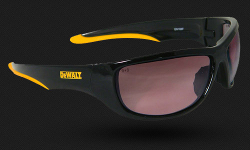 Full Wraparound Frame • Rubber Temples • Meets ANZI Z87.1+ • 99.9% UV Protection