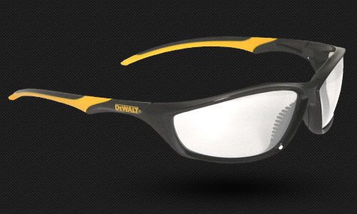Slim, Lightweight Frame • Dual Mold Rubber Temples • Meets ANZI Z87.1+ • 99.9% UV Protection