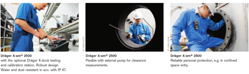 X-am 2500 4-Gas Detector Application