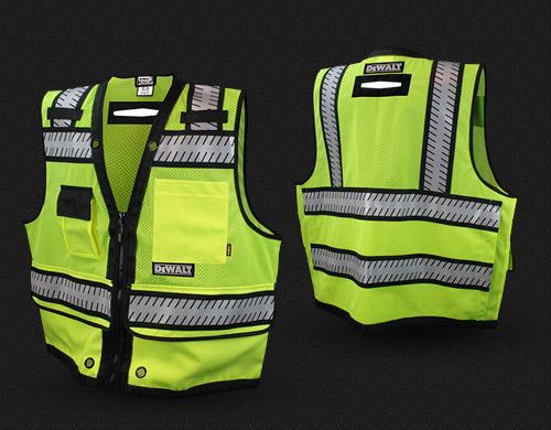 Dewalt DSV521 Heavy Duty Class 2 Surveyor Vest