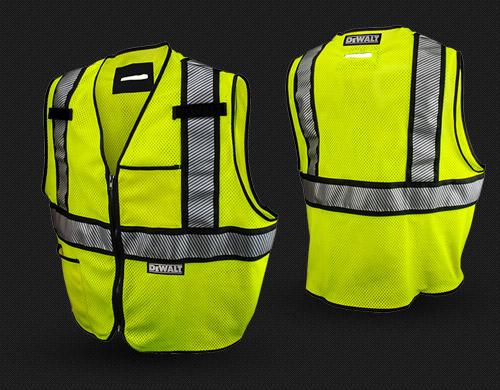 Dewalt DSV971 Modacrylic FR Class 2 Mesh Vest