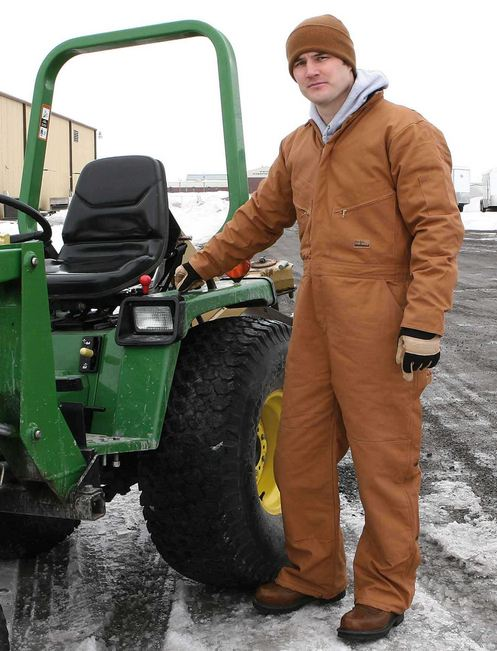 Men's & Women's Insulated Coveralls - Safety Company
