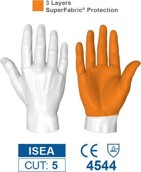 HexArmor 9014 SharpsMaster II Needle Puncture Resistant Gloves Protection Zones
