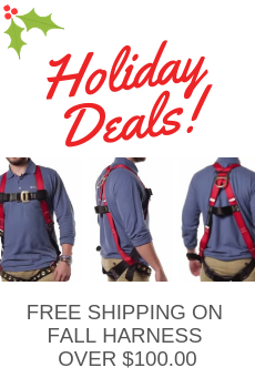 free shipping on safety harness over $100 on Popular brands like 3M, Falltech, Surewerx, Tractel, Yates, Honeywell