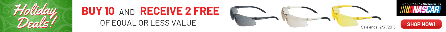 BUY 10 DEWALT SAFETY GLASSES AND RECEIVE 1 FREE!  Shop Now!