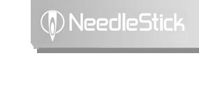 NeedleStick Logo Background