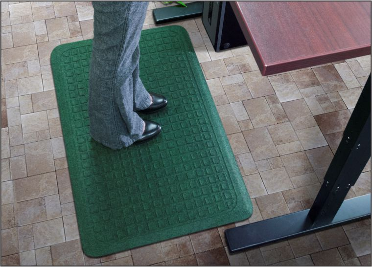 image of montserrat office design floor using the home advantages mats