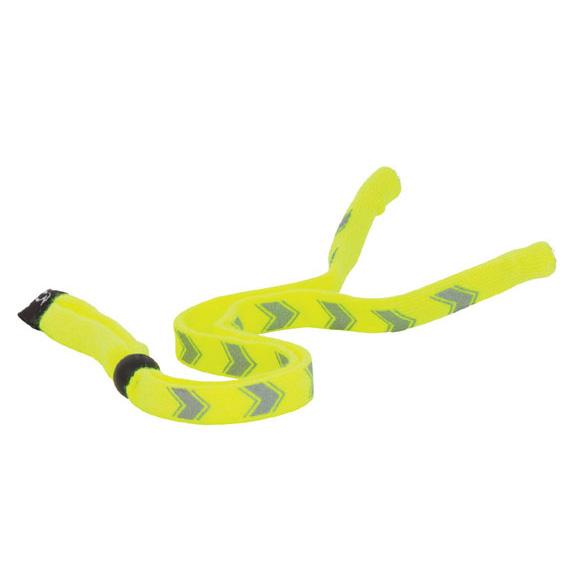 Chums Enhanced Visibility Eyewear Retainers - Yellow Chevron 12303. Shop Now!